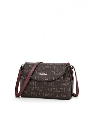 Wine Fashion Shoulder Bag Crossbody & Messenger Bag